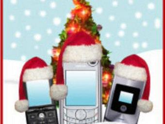 Auguri di Natale per cellulare