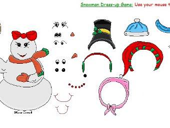 Crea un Pupazzo di neve online